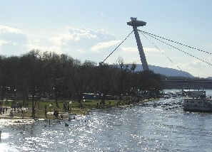 Lowering the risk of floods in the Danube basin