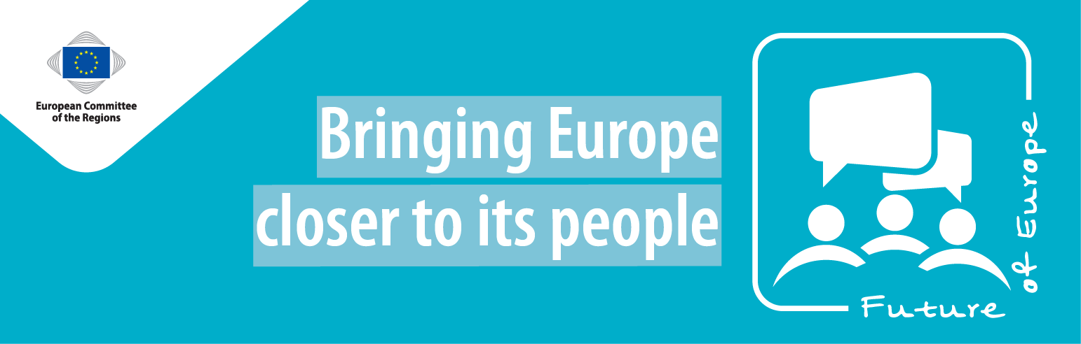 Banner of the page bringing europe closer to its people: Democacry and the future of the EU