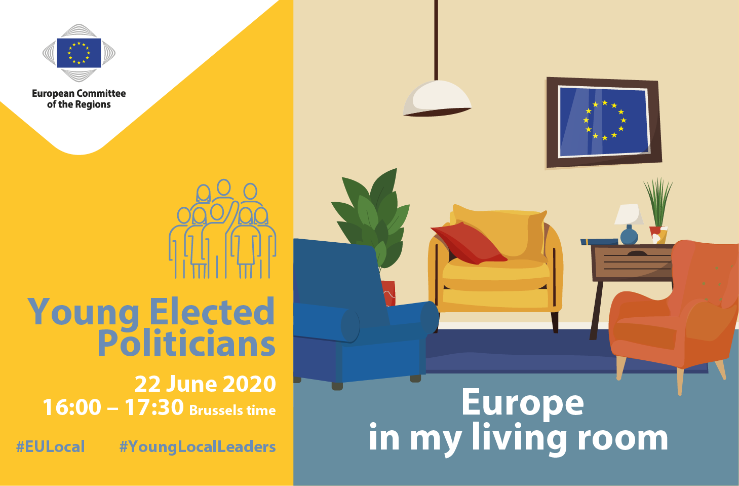 Young Elected Politicians - Europe in my living room