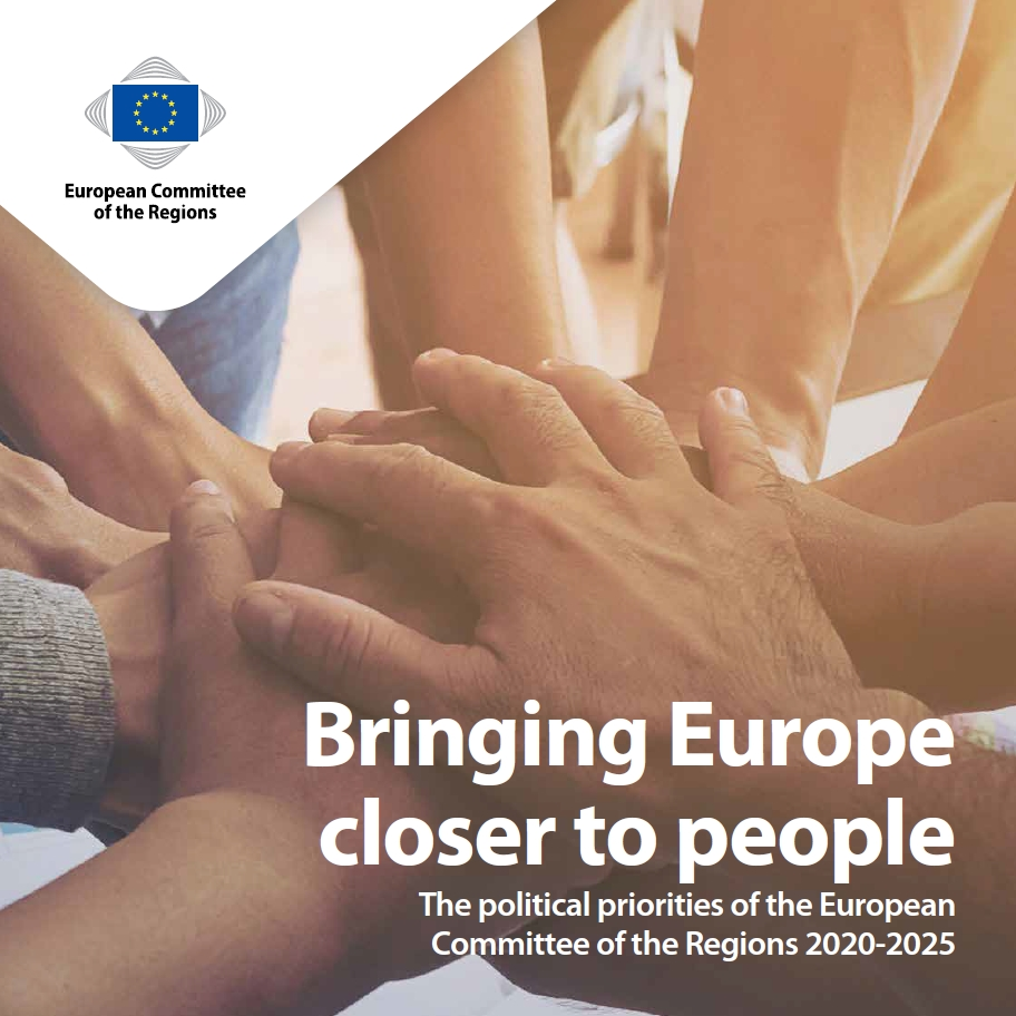 Bringing Europe closer to people, The political priorities of the European Committee of the Regions 2020-2025