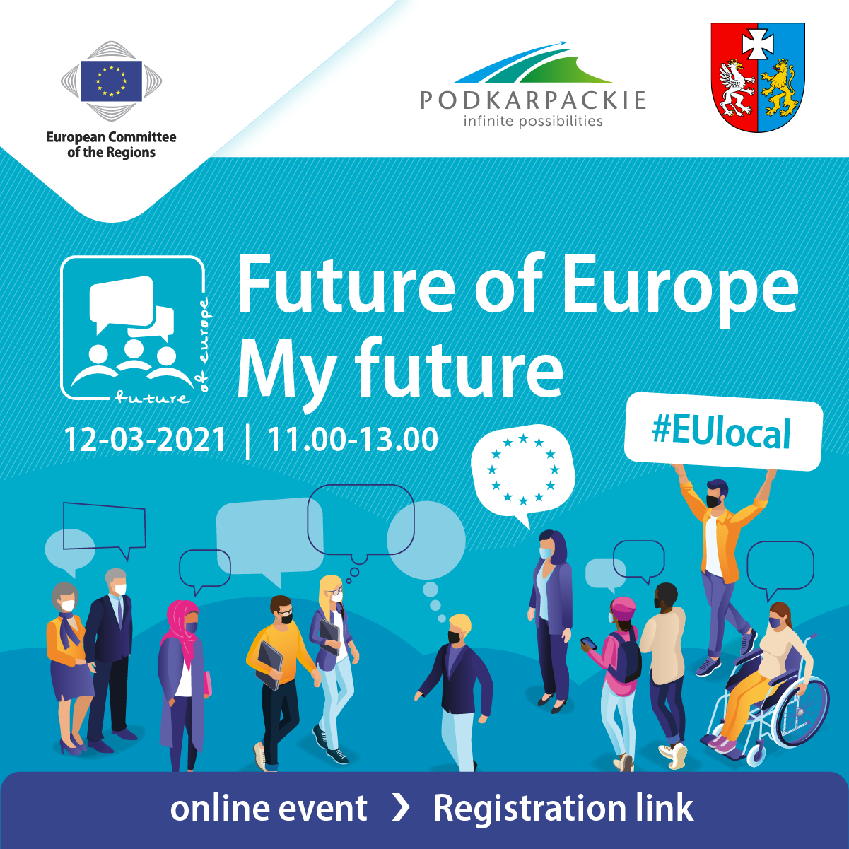 Online workshop: Future of Europe – My future