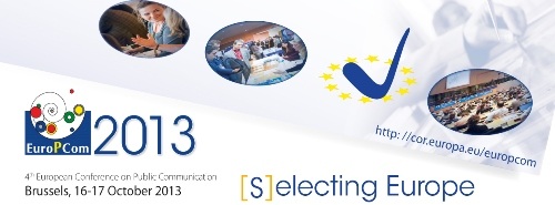 EuroPCom 2013 - [S]electing Europe
