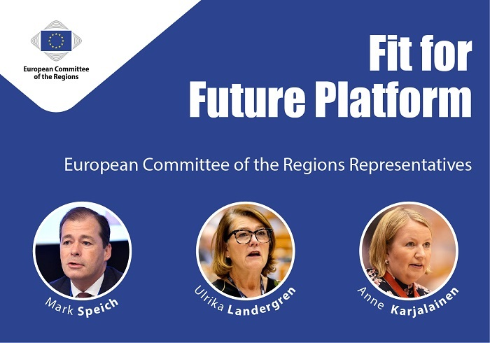 Fit for Future Platform accepts particular regional focus of its work