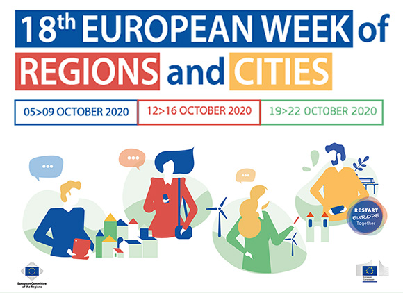 #EURegionsWeek 2020 spreads over 3 weeks