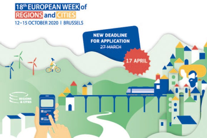 #EURegionsWeek deadline extended: apply by 17 April 2020!