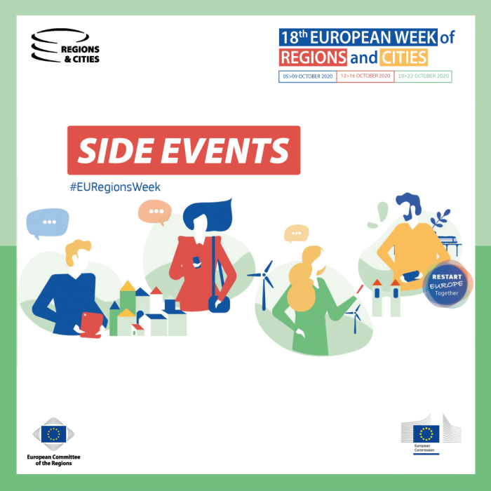 #EURegionsWeek 2020: Side events call for applications opened