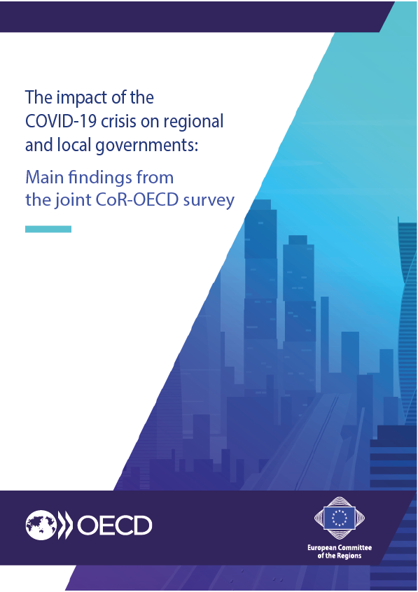"Results of the joint CoR-OECD survey on ""The impact of COVID-19 on EU regional and local governments"""