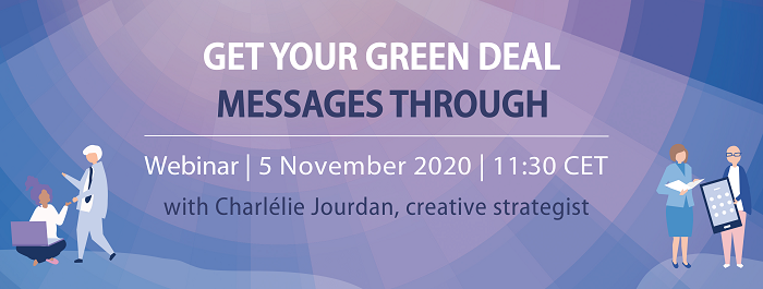Sign-up to our next Digital Masterclass on 5 November: Get your Green Deal messages through - Practical session.